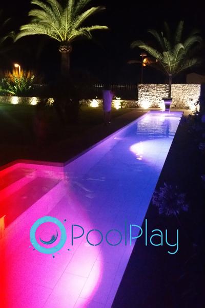 Luces LED para piscina o jardín: diseño, ahorro y eficiencia