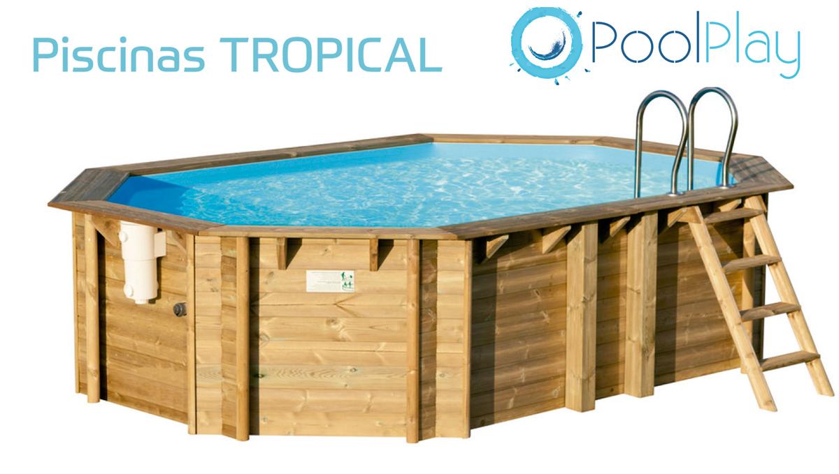 Promoci n piscinas de madera tratada Piscina interior precio