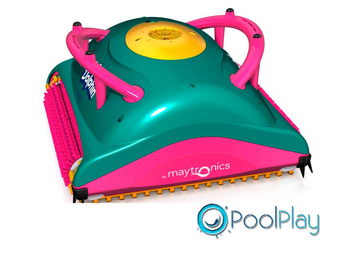 Limpiafondos el ctrico para piscinas swif de dolphin Limpiafondos para piscinas