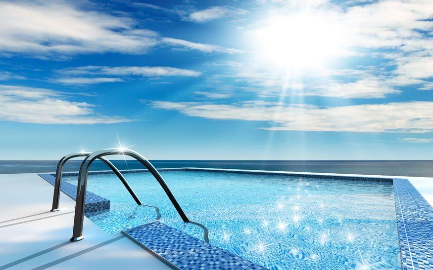 Vidrio filtrante: consigue una piscina de agua cristalina