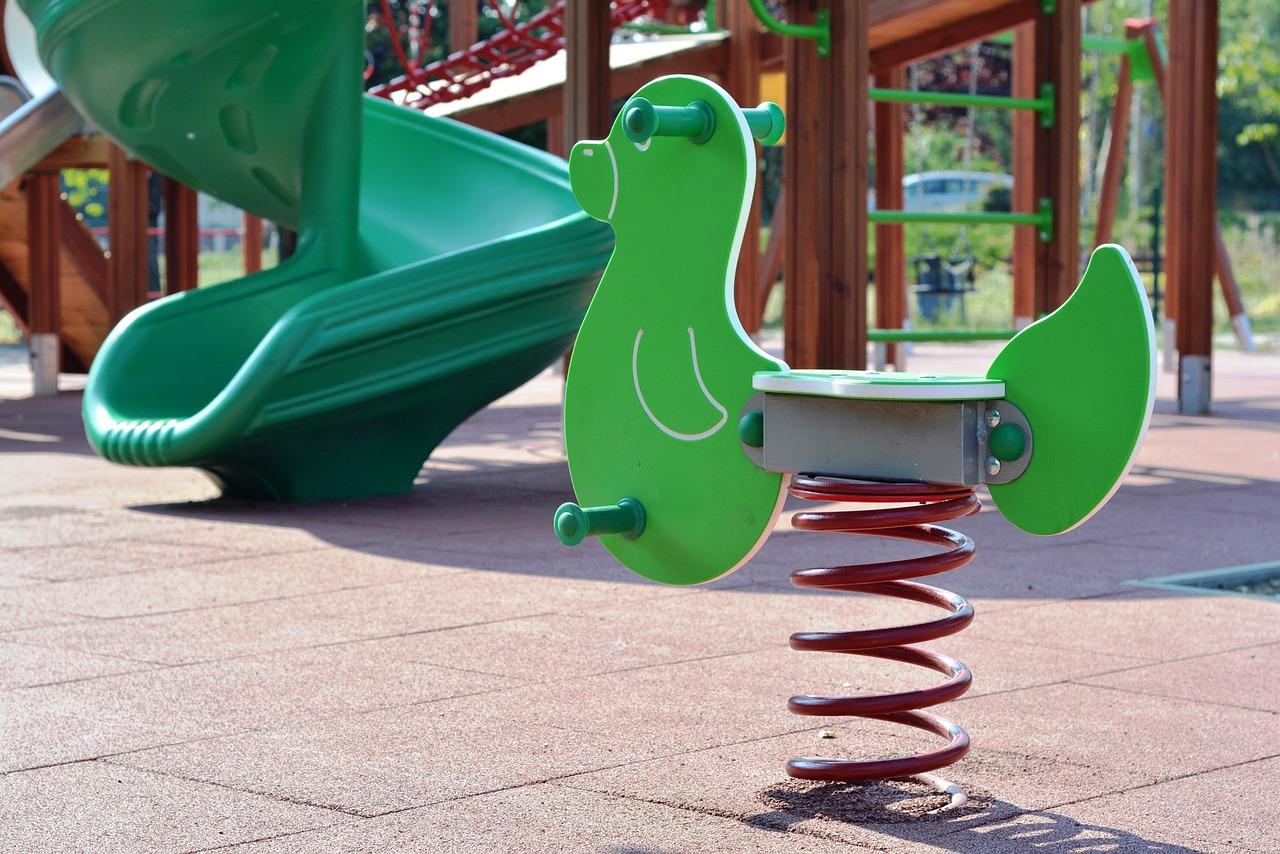 Pavimentos para áreas infantiles