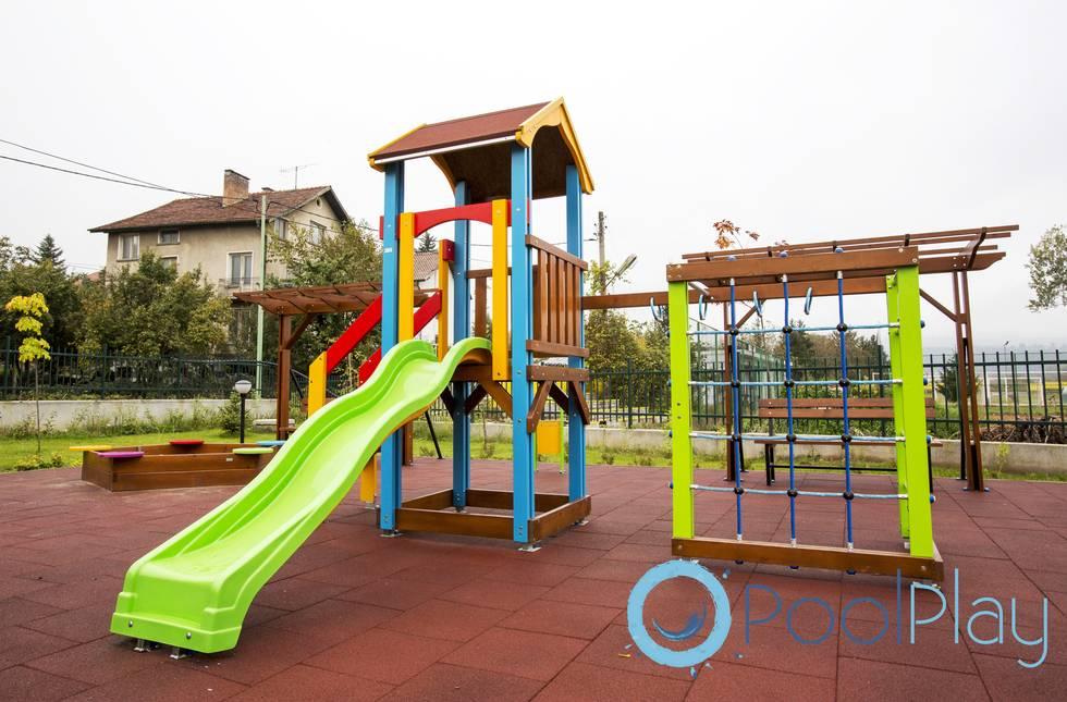 Pavimentos para parques infantiles