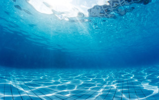 31225847 - underwater shot of the swimming pool