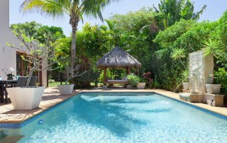 15616697 - luxury swimming pool and entertaining area in australian mansion
