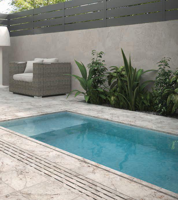 Ventajas del gres porcelánico para tu piscina