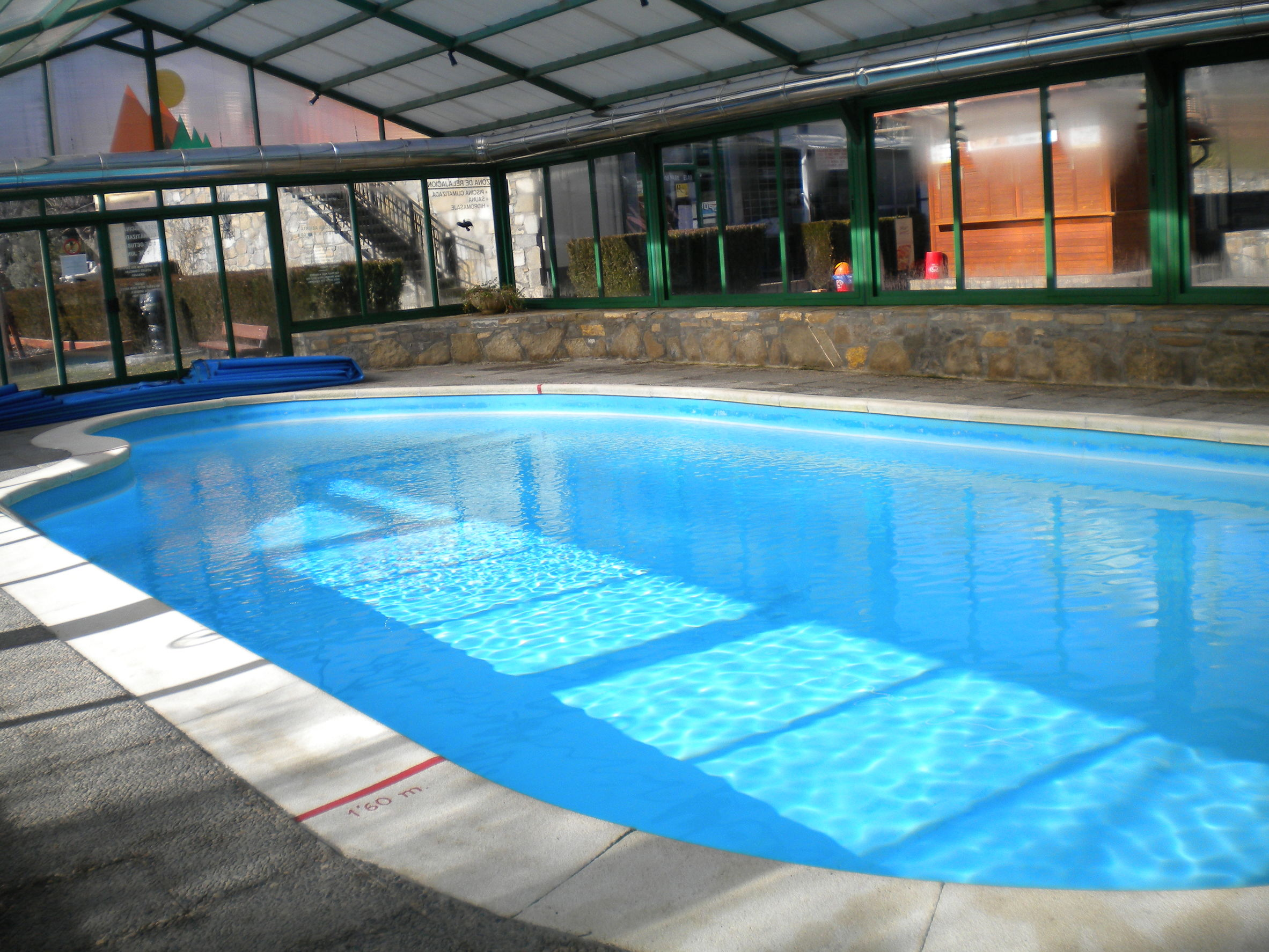 92899688 - climatized pool in the aran valley, lleida, catalonia, spain