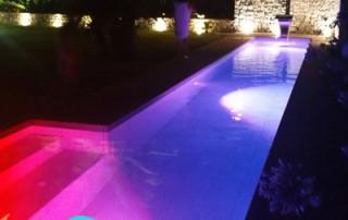 Luces led para la iluminación de piscinas