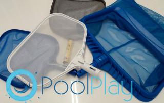 Recogehojas plano para la piscina