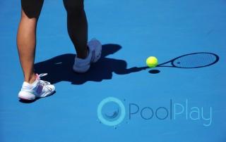 Pavimentos para la construcción de pistas de tenis