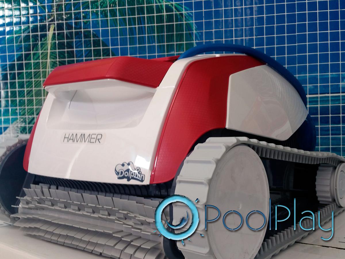 Promoción PoolPlay: limpiafondos eléctrico Hammer