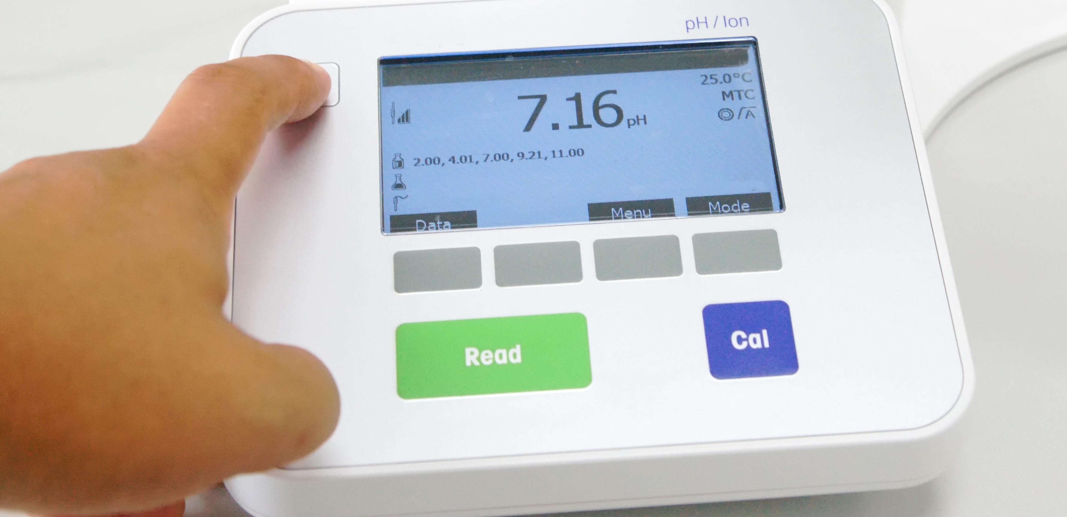 Equipo automático de pH